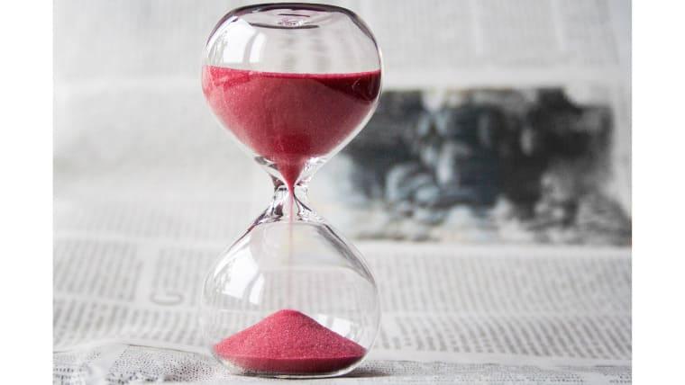 時間を有意義に使う